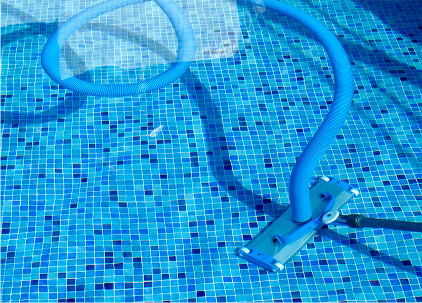 Replastering your pool will smooth